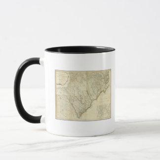 Mug Nord composé et Caroline du Sud