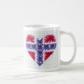 Mug Nordic norvégien Norvège de point de croix de