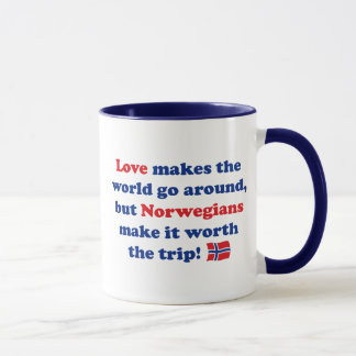 Mug Norvégiens d'amour
