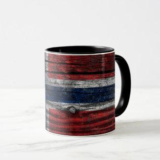 Mug Norway drapeau grunge