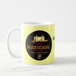 Mug Nostalgie de luxe de voyage de l'HÔTEL NACIONAL De