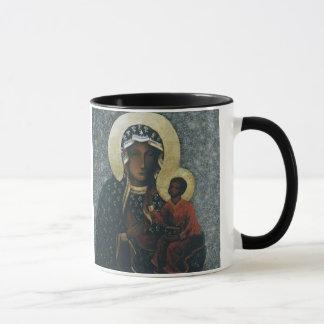 Mug Notre Madame d'image de dévotion de Czestochowa,