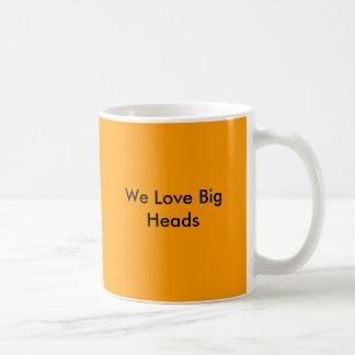 Mug Nous aimons de grandes têtes