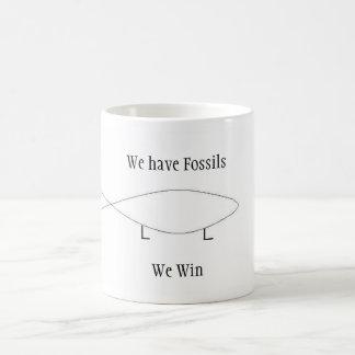Mug Nous avons des fossiles