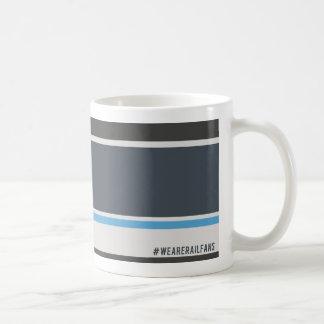 Mug Nous sommes gris écossais de Railfans