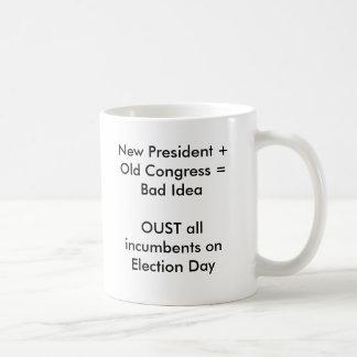 Mug Nouveau président + Le vieux congrès = mauvais