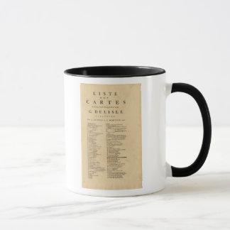 Mug Nouvel atlas du monde