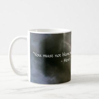 Mug Nuages avec la citation de Thoreau
