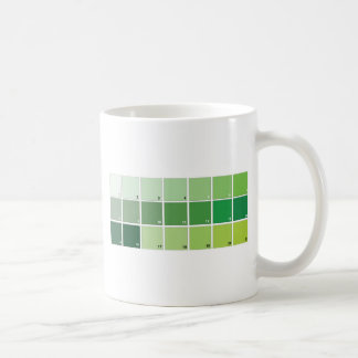 Mug Nuances de grille verte