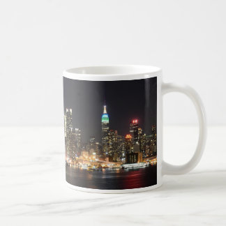 Mug Nuit d'horizon de Manhattan New York