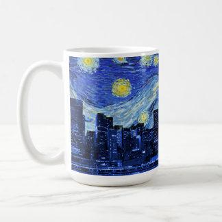 Mug Nuit étoilée au-dessus de New York City