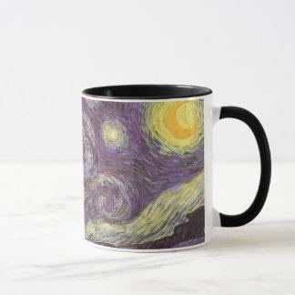 Mug Nuit étoilée par Vincent van Gogh, beaux-arts