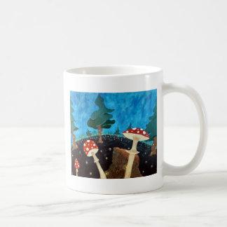 Mug nuit trippy dans les bois