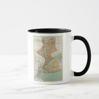 Mug NY, rois, Queens, Richmond, Rockland