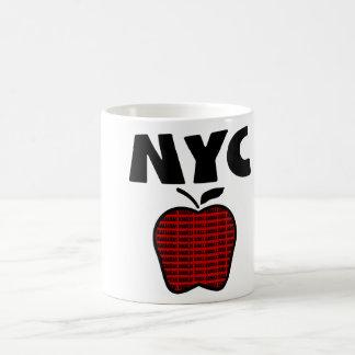 Mug NYC - Grand Apple avec chacune des 5 villes