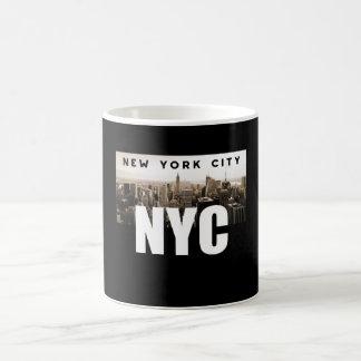 Mug NYC New York City. Horizon. L'Amérique, Etats-Unis
