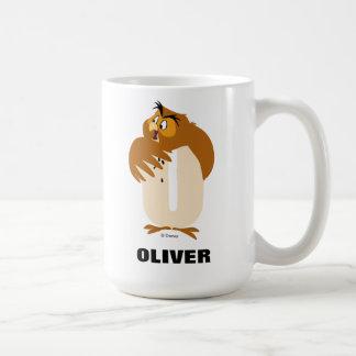 Mug O est pour le hibou que | ajoutent votre nom