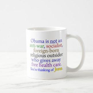 Mug Obama et Jésus
