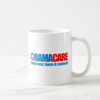 Mug Obamacare - courbure ici elle vient