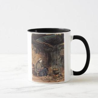 Mug Observant le pot bouillir - un intérieur de