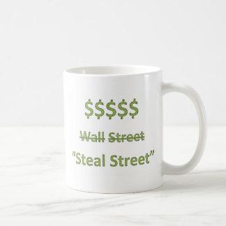 Mug Occupez Wall Street rétro