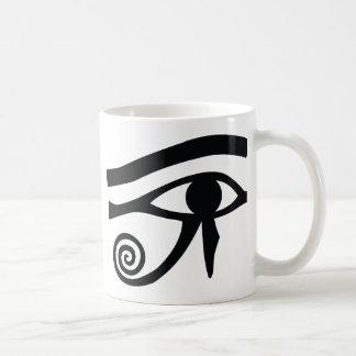 Mug Oeil de Horus hiéroglyphique