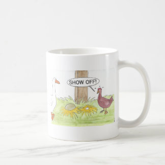 Mug Oie d'or contre le poulet