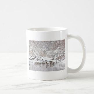 Mug Oies dans la neige