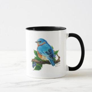 Mug Oiseau bleu de baie