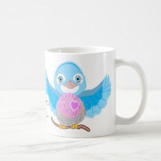 Mug Oiseau bleu de bonheur