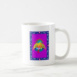 Mug oiseau coloré géant