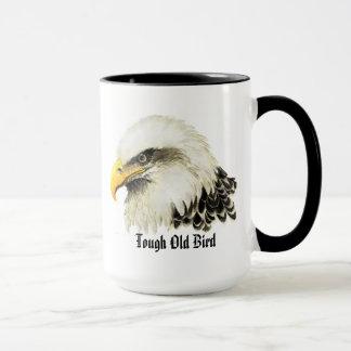 """Mug Oiseau d'Eagle chauve d'humour """"de vieil oiseau"""