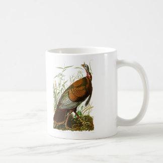Mug Oiseaux sauvages de la Turquie John James Audubon