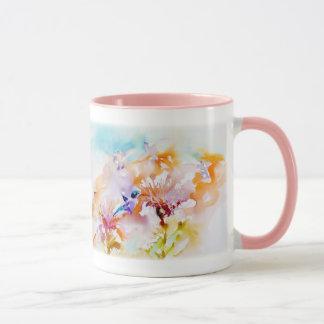 """Mug """"Ombres copie de colibri à pastels"""""""