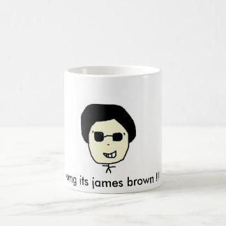 Mug omg son brun de James ! ! !