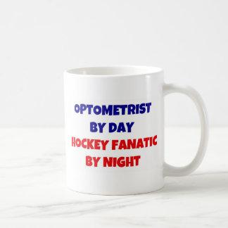 Mug Optométriste par le fanatique d'hockey de jour par