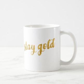 Mug Or de séjour (soyez vrai à vous-même)
