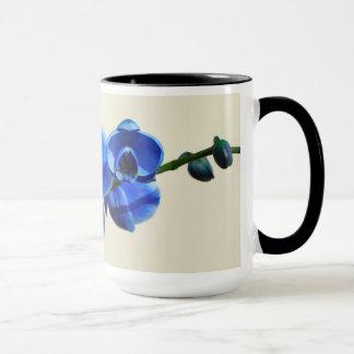 Mug Orchidées bleues