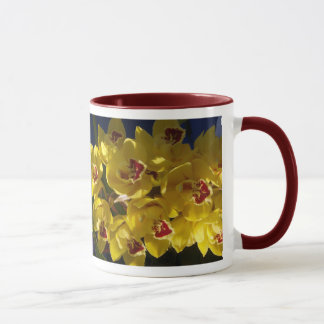Mug Orchidées jaunes