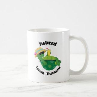 Mug Orthophoniste retraité (tortue)