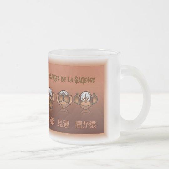 Mug ou tasse les singes de la sagesse