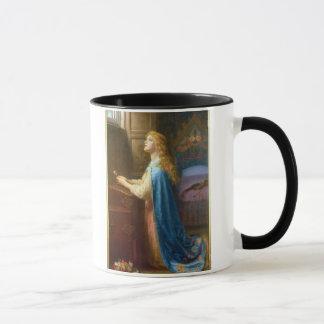 """Mug """"Oubliez-moi pas"""" (l'huile sur la toile)"""