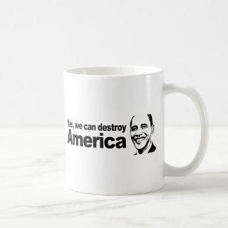 Mug Oui nous pouvons détruire l'Amérique