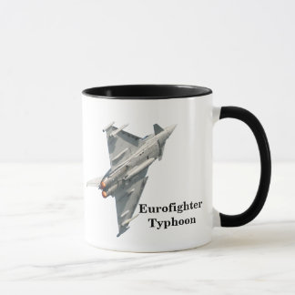 Mug Ouragan d'Eurofighter avec le monogramme
