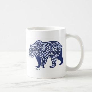 Mug Ours bleu Knotwork Stein