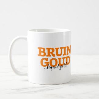 Mug Ours brun d'Eurasie Goud/vocabulaire néerlandais