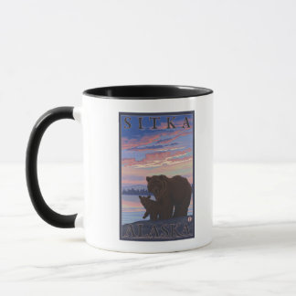 Mug Ours et CUB - Sitka, Alaska