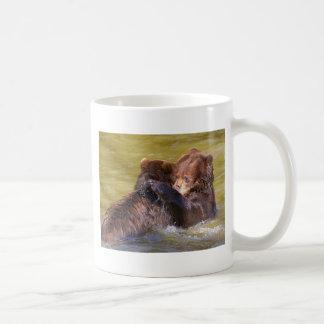 Mug Ours gris dans l'eau