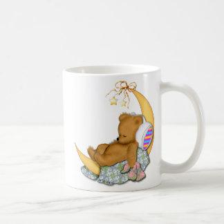 Mug Ours somnolent de lune