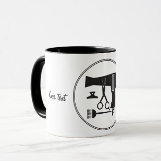Mug Outils de coiffures